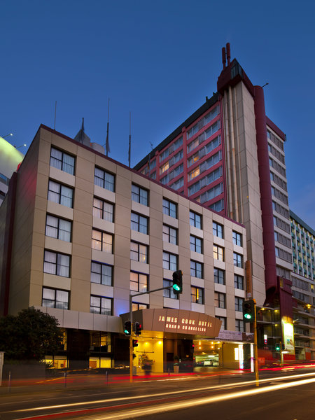 General view James Cook Hotel Grand Chancellor Wellington