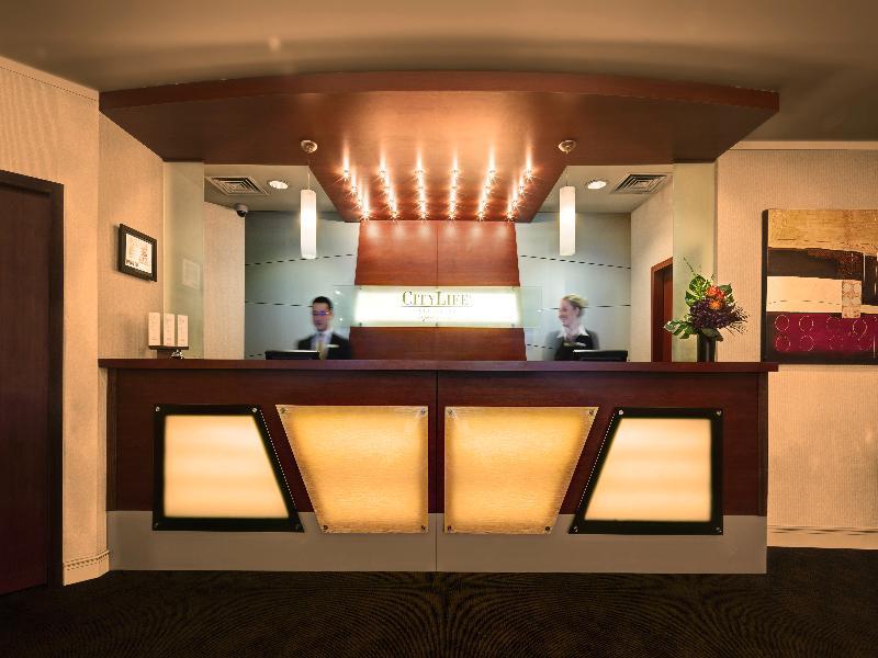 Lobby Citylife Wellington A Heritage Hotel