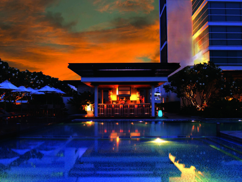 Pool Pullman Bangkok King Power