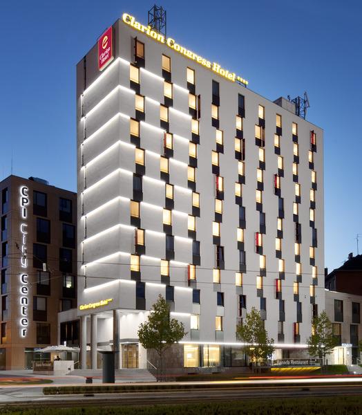 General view Clarion Congress Hotel Olomouc