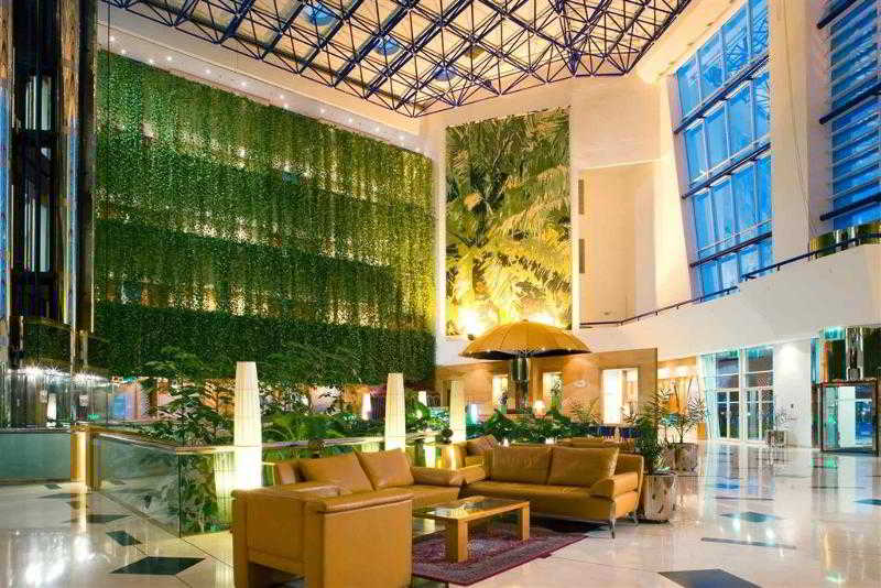 Lobby Mercure Grand Jebel Hafeet