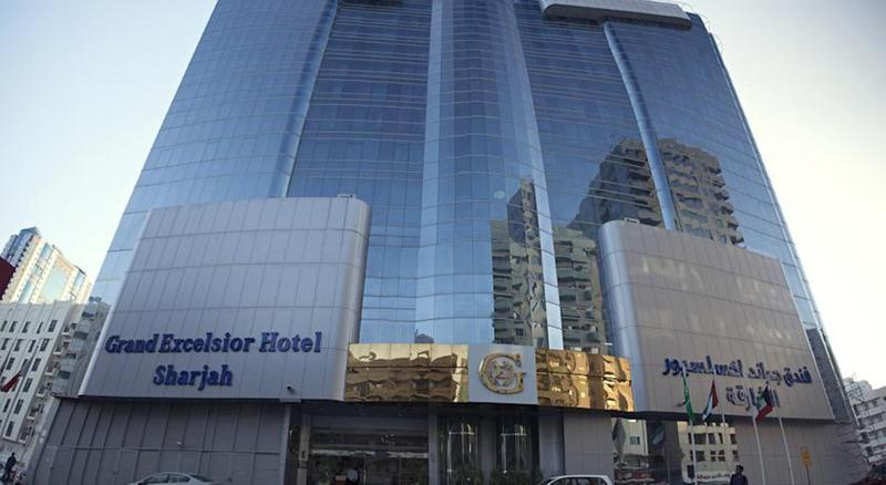 General view Grand Excelsior Hotel Sharjah