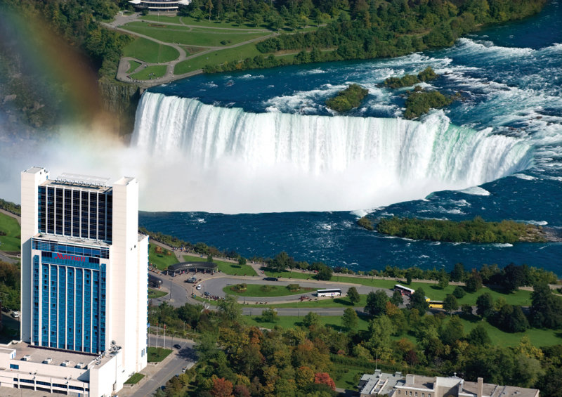 General view Niagara Falls Marriott On The Falls