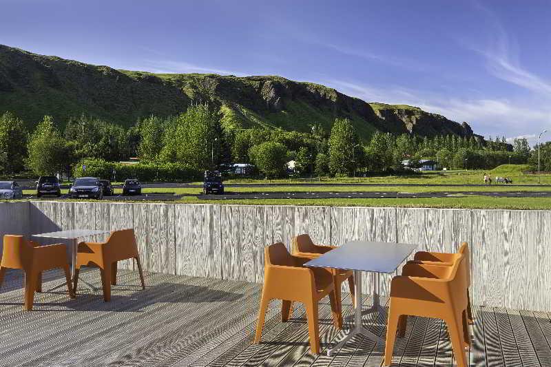 Terrace Icelandair Hotel Klaustur