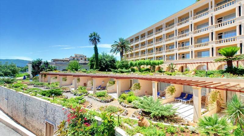 General view Corfu Palace