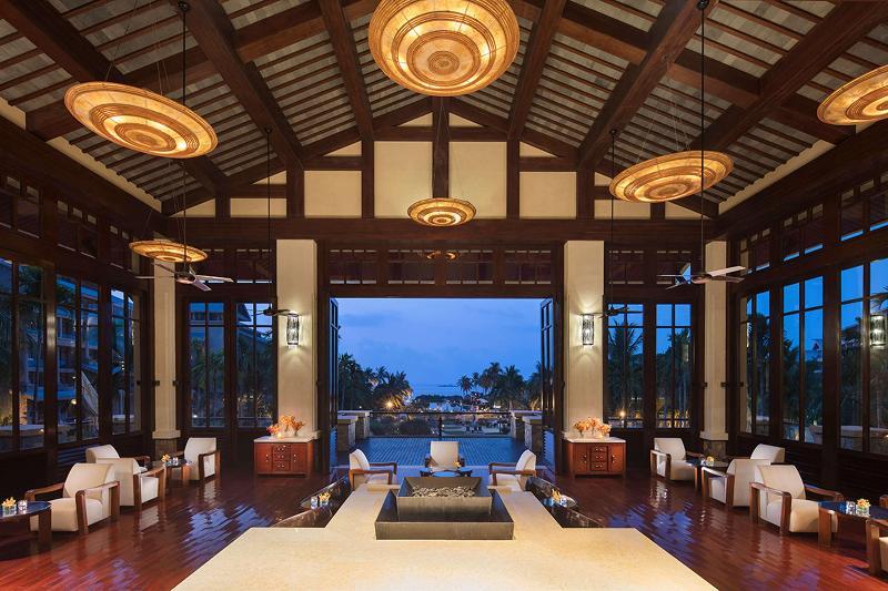 Lobby Hilton Sanya Resort & Spa