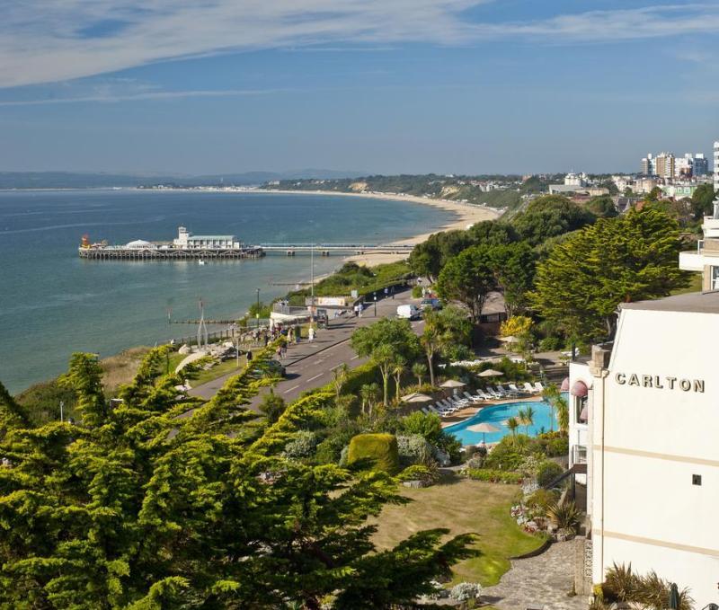 General view Hallmark Hotel Bournemouth Carlton