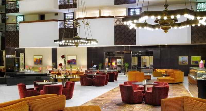 Lobby Riyadh Marriott Hotel