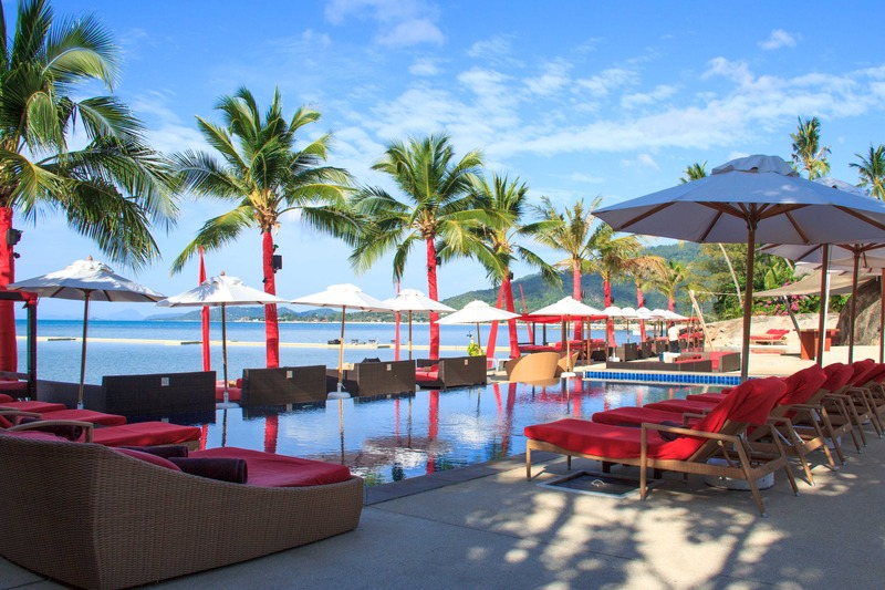Pool Beach Republic Koh Samui