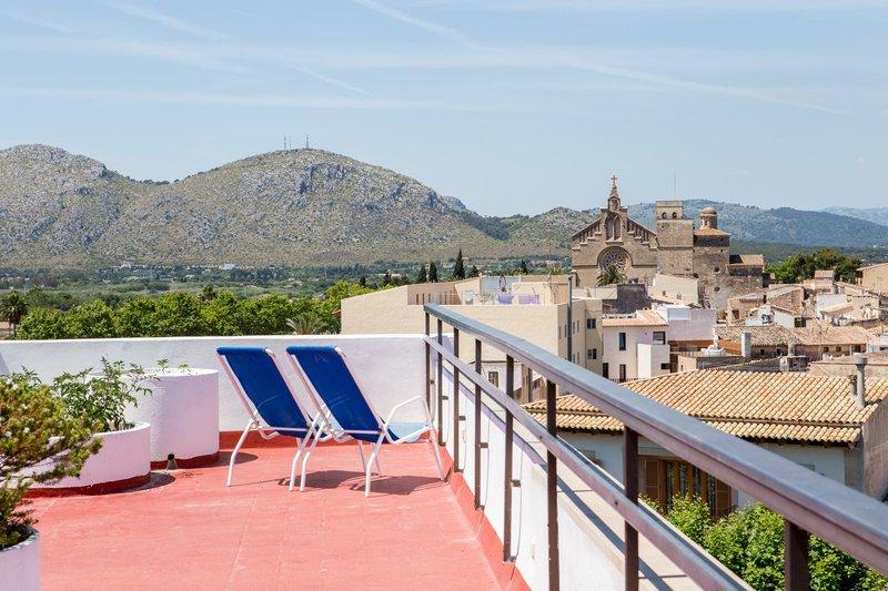 Terrace Apartamentos Carlos V