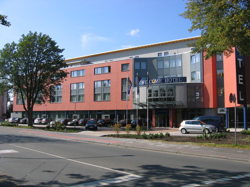General view Welcome Hotel Paderborn