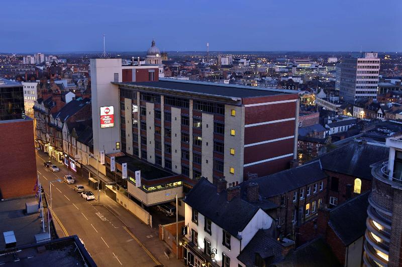 General view Best Western Plus Nottingham City Centre