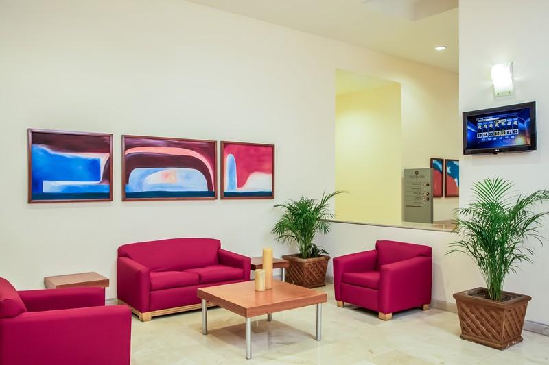 Lobby Fiesta Inn Tijuana Otay Aeropuerto