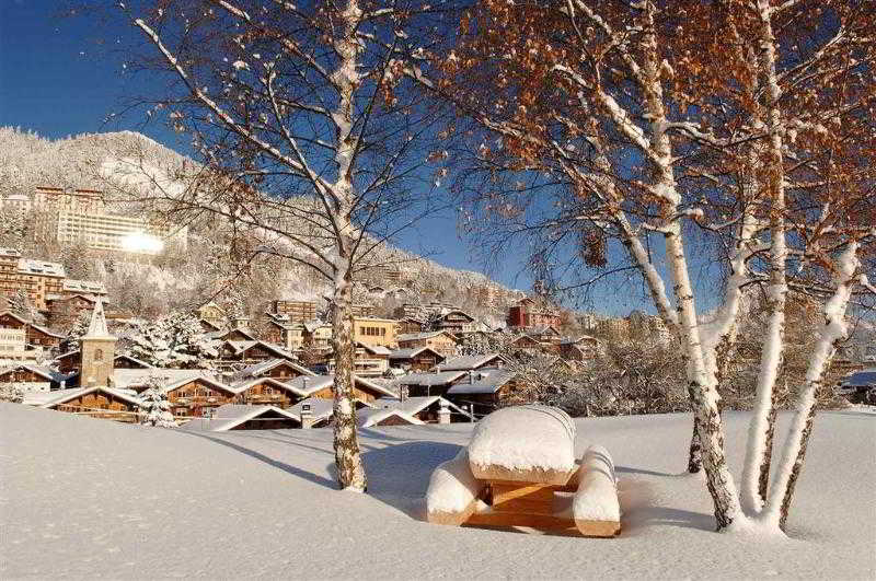 General view Alpine Classic Hotel Leysin