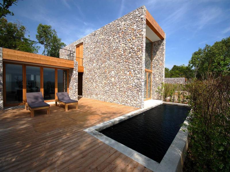 bad modern deko behaglichkeit luxus resort thailand