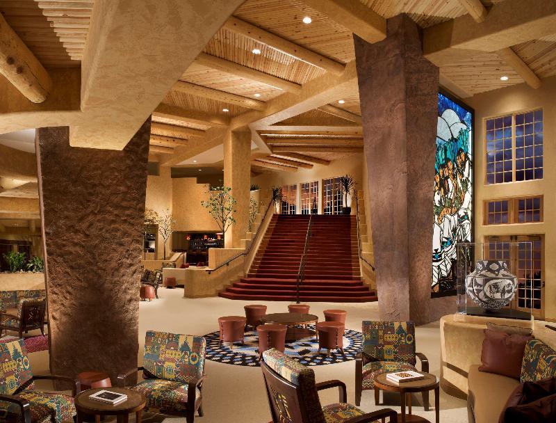 Lobby Hilton Santa Fe Golf Resort & Spa Buffalo Thunder