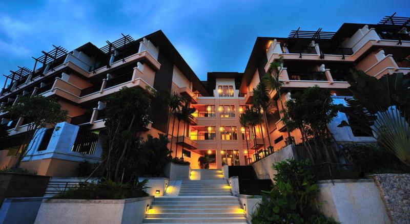 Lobby Aonang Cliff Beach Resort