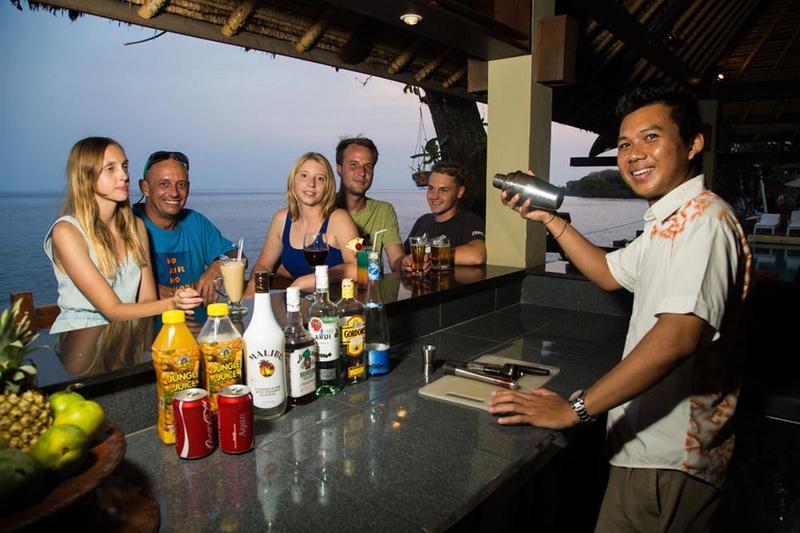 Tauch Terminal Resort Tulamben - Bar - 3