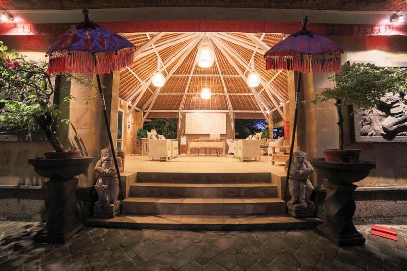 Lobby Tauch Terminal Resort Tulamben