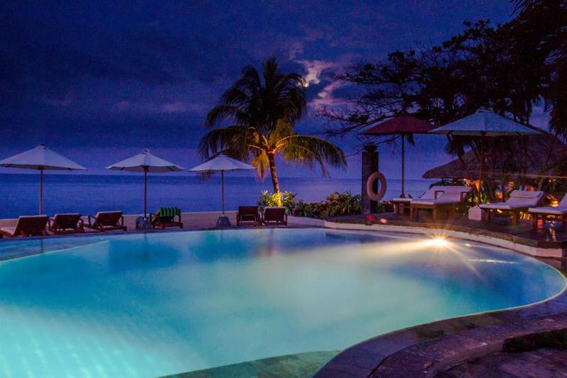 Tauch Terminal Resort Tulamben - Pool - 12