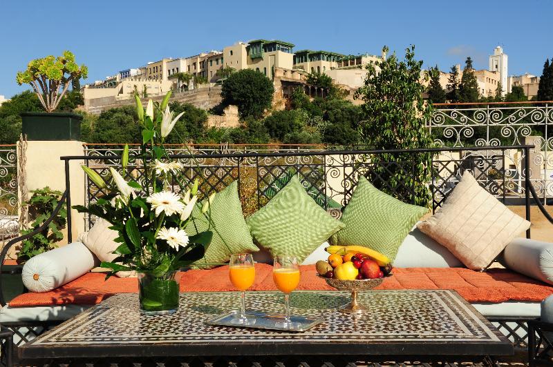 Terrace Riad El Amine Fés