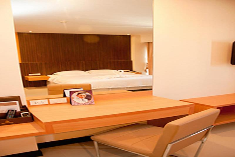 Golden City Rayong Hotel - Room - 13