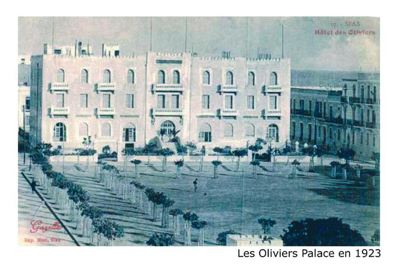General view Les Oliviers Palace
