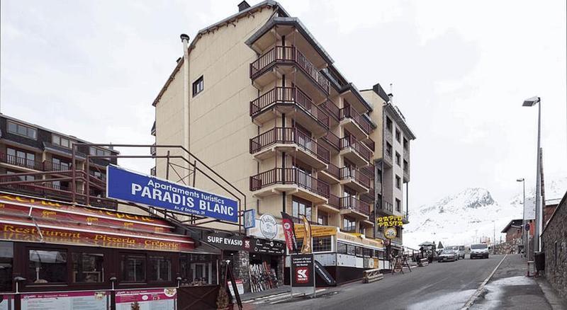 General view Paradis Blanc