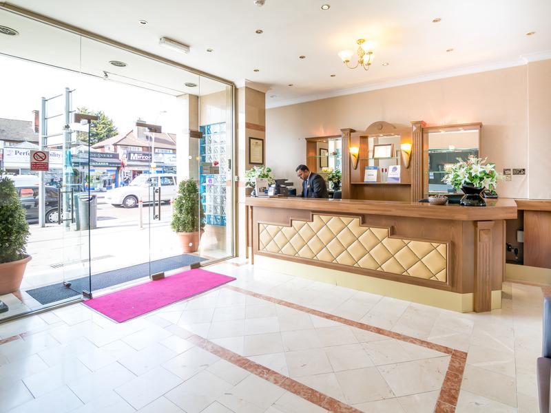 Lobby St. Georgio Hotel