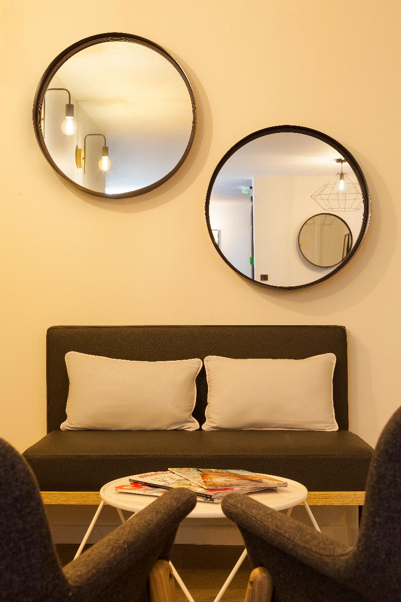 Lobby Comfort Hotel Amiens Nord