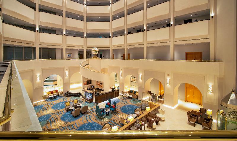 Lobby Hilton Al Ain