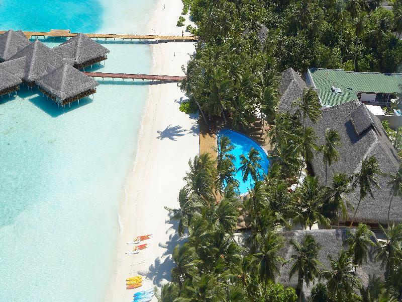 Lobby Medhufushi Island Resort