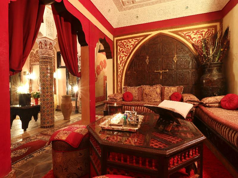 Lobby Riad Mille Et Une Nuits