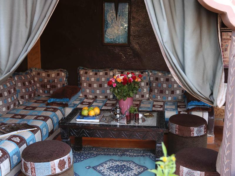 Terrace Riad Mille Et Une Nuits
