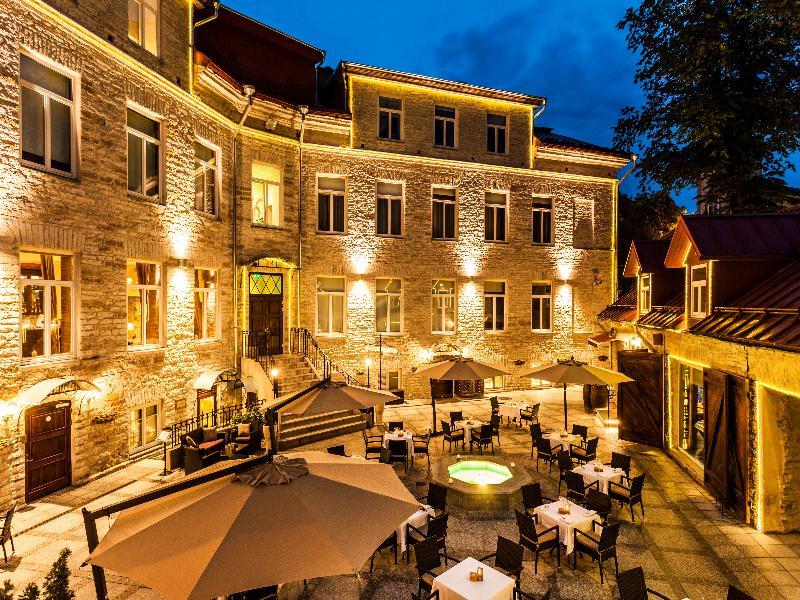 General view Von Stackelberg Hotel Tallinn