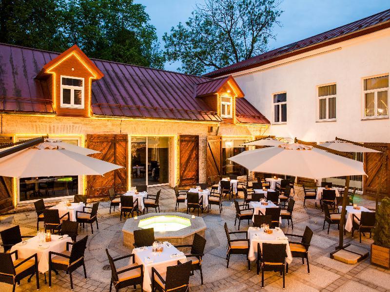 Terrace Von Stackelberg Hotel Tallinn