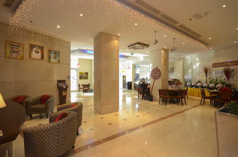 Lobby Parkside Suites