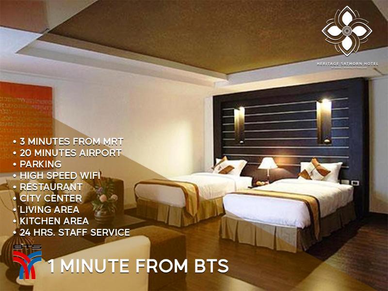 General view Heritage Hotels Sathorn