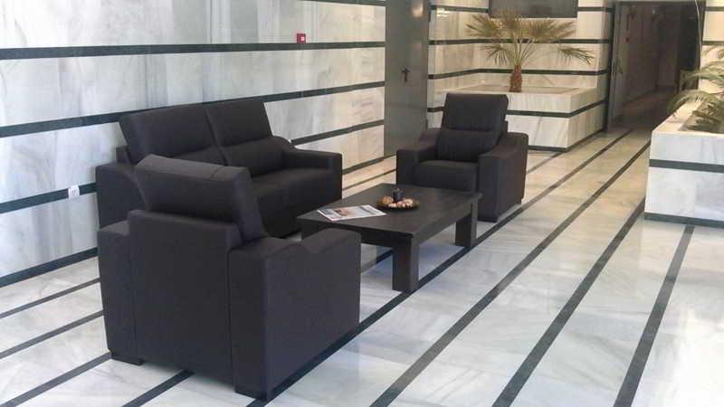 Lobby Parque Tropical Aparthotel