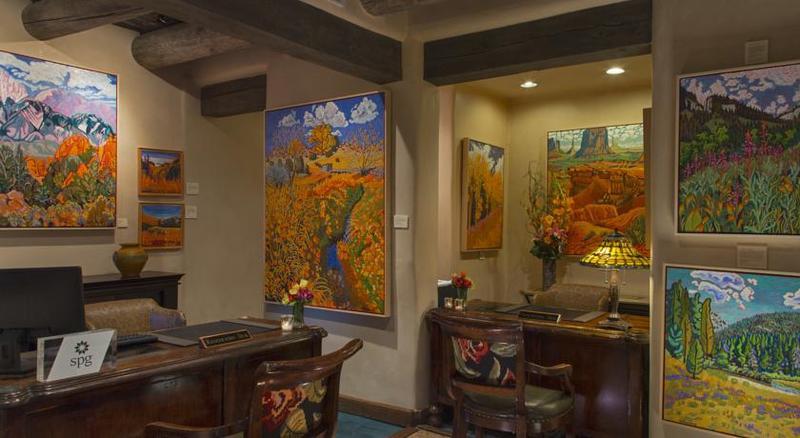 Lobby La Posada De Santa Fe Resort & Spa