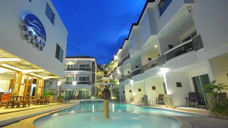 General view Boracay Ocean Club Beach Resort