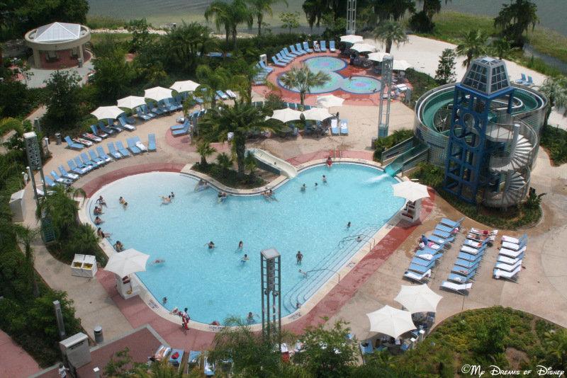 Pool Bay Lake Tower At Disney\'s Contemporary Resort
