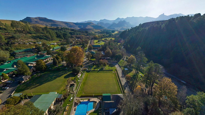 General view Gooderson Drakensberg Gardens Golf & Spa Resort