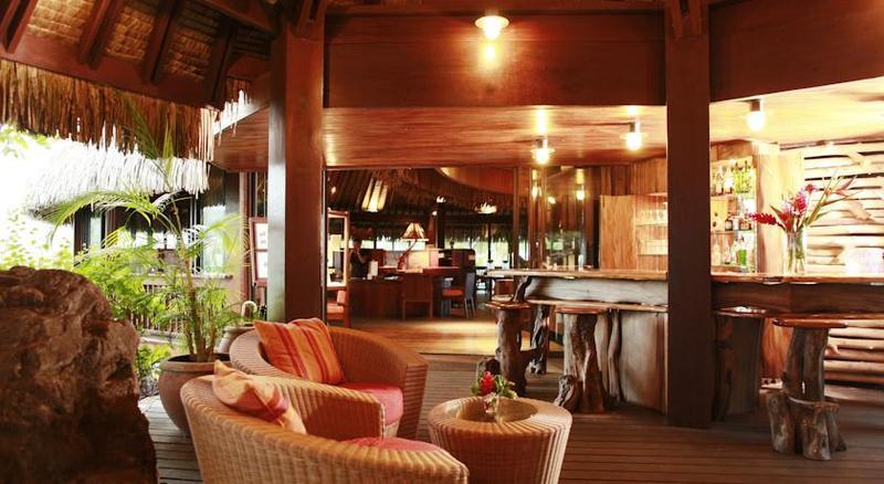 Lobby Sofitel Bora Bora Private Island