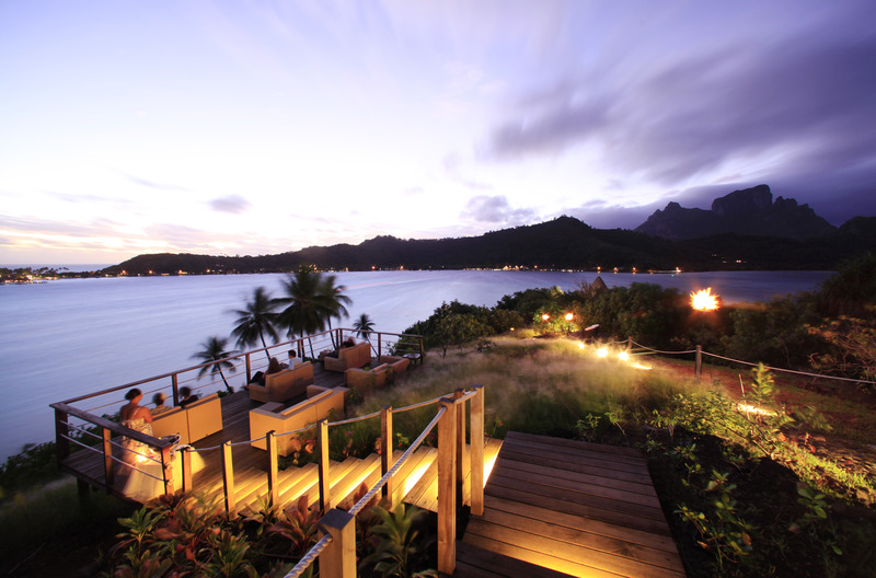 Terrace Sofitel Bora Bora Private Island