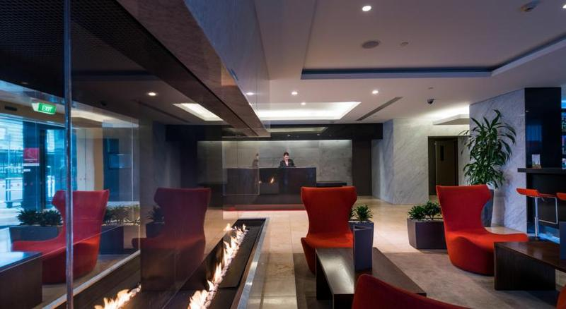 Lobby Rendezvous Hotel Christchurch