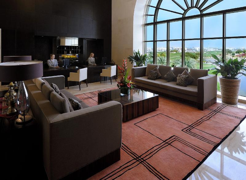 Lobby Address Montgomerie Dubai