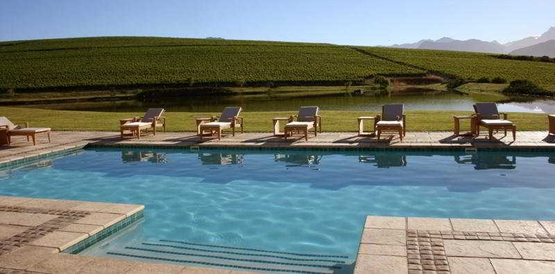 Pool Asara Wine Estate