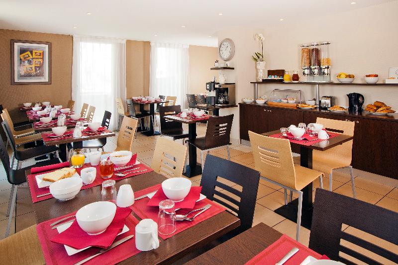 Restaurant Séjours Et Affaires Caen Le Clos Beaumois