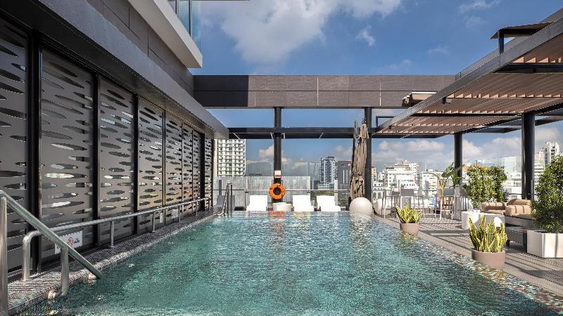 Pool Holiday Inn Santo Domingo